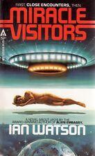 Miracle Visitors: Ian Watson Ace Books Paperback 1978 Aliens Fiction E-83