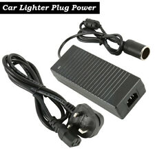 120W 10A AC 220V To DC 12V Converter Car Cigarette Lighter Socket Power Adapter