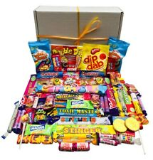 Fathers Day Pick N Mix The Ultimate Retro Sweets Box Sweet Hamper - Gift Message