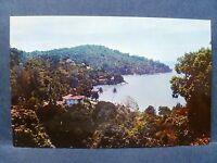 Postcard Malaysia Penang North Coast view of Tanjong Bungah Bay