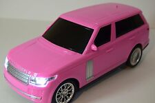 KATIE PINK RANGE ROVER RADIO REMOTE CONTROL CAR GIRLS SPORTS CAR 1/16 LIGHTS