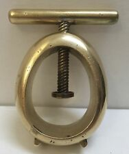 Brass Nut Cracker Vintage Collector's Carl Auböck Mid Century (A5)