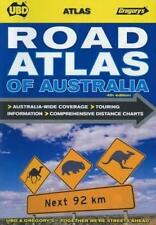 NEW Road Atlas of Australia  By UBD Gregorys Spiral Ringed Book Free Shipping