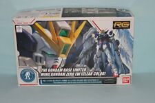 RG 1/144 Gundam Base Limited Wing Gundam Zero EW [Clear Color]  Gundam W Gunpla