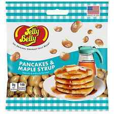 PANCAKES AND MAPLE SYRUP - Jelly Belly Candy Jelly Beans - 3.1 oz BAG - 3 PACK