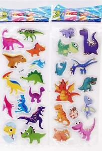 Animal World Stickers 3d Puffy Favors&Party Kids' Crafts Favor Stickers Lot 2020