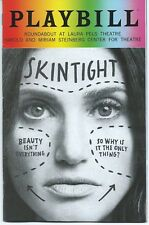 SKINTIGHT Playbill + color ad flyer IDINA MENZEL Jack Wetherall (Pride cover)