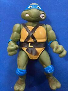 Teenage Mutant Ninja Turtles Giant Leonardo Playmates 1989 Vintage rare tmnt