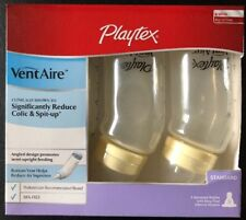 Playtex VentAire Standard Bottles Colic Slow Flow Nipples 6 oz Assorted Colors