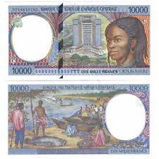 B.E.A.C - CONGO 10000 FRANCS 1997 NEUF P.105 Cc
