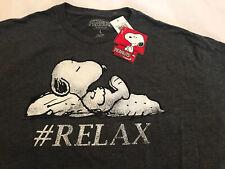Peanuts Snoopy #relax  T-shirt