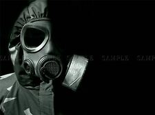 CHEMICAL WARFARE GAS MASK RUBBER PHOTO ART PRINT POSTER PICTURE BMP431A