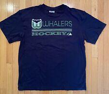 New listing Vintage Hartford Whalers T Shirt Blue Nhl Hockey 1990s Throwback Xl