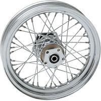 "Drag Specialties Wheel Chrome Rear 16 x 3"" for 86-99 FLT 0204-0369"