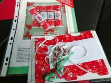 CROSS STITCH COVER KIT 5 CHRISTMAS CRACKERS  MAGAZINE COVER KIT