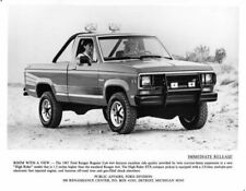 1987 Ford Ranger Press Photo 0112