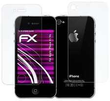 FX-Hybrid-Glass Panzerglasfolie Apple iPhone 4 / 4s Glasfolie Panzerglas