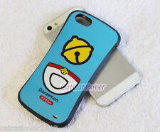 Cute glossy Blue Doraemon cat soft rubber extra bumper case cover iPhone 5/5s