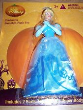 Disney Princess Cinderella Push Ins Pumpkin Decorating Kit Halloween Cake Topper