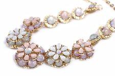 N516 Betsey Johnson Pearl Flower Brides Wedding Wedding Accessories Necklace US