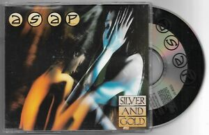 A.S.A.P. ASAP Silver And Gold 1989 EMI CD Single CDEM 107