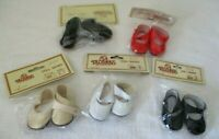 """Tallena's Doll Shoes~5 pairs ~Style 002 ~size 5 ~Sole Size 2"""" New"""