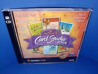 Hallmark Card Studio 2004 PC CD ROM Windows ME/2000/98/XP B301