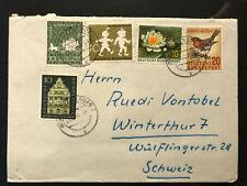 Bund 1957 Bedarfsbrief Naturschutz Landtag Württemberg Eichendorff Busch