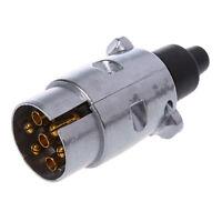connecteur - 7-Broche Adaptateur Remorque Robuste broche rond 7-Pole  WT