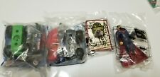 Vtg Boys Kids Meal Toys Lot of 4 Transformers Superman Transylvania New in Packa