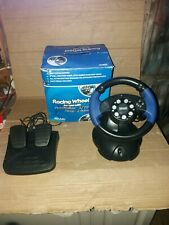 Titan Concepts racing Steering Wheel & pedals For PS1/ 2 XBOX and GameCube