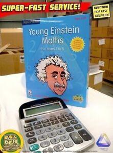 Young Einstein Math tutor NEW (Aussie) 250 mathematics games Windows PC software