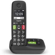 Gigaset E290A Schnurlostelefon schwarz, Anrufbeantworter, Analog, DECT, GAP