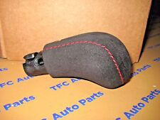 Chevrolet Camaro Manual Shift Knob Red Stitching Suede OEM Genuine GM 2012-2015
