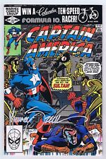 Captain America #265 VF/NM Signed w/COA Mike Zeck 1982 Spider-Man App Marvel CGC