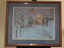 Mort Kunstler - Strategy In The Snow- Collectible Civil War Print