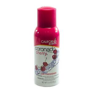 California Scents Air Freshener Spray 3.5oz, Coronado Cherry Scent