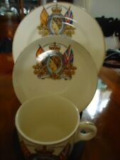 1953 Coronation Cup Saucer & Plate