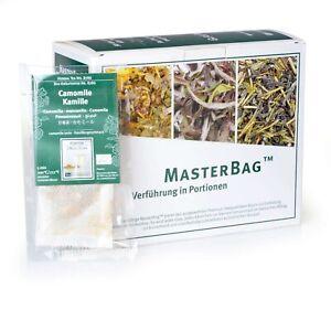 Tee Gschwendner Kamille - Camomile Bio 15 x 1,8g Master Bag Glas TeeGeschwendner