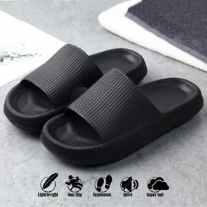 Pillow Slides Sandals Women Men Anti-Slip Soft Home Bathroom Shoe Slipper
