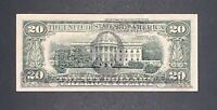"""1988 J 20$ FEDERAL RESERVE NOTE """"FULL FACE TO BACK OFFSET PRINTING ERROR"""" XF"""