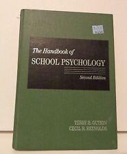 The Handbook of School Psychology, 2nd Edition Reynolds & Gutkin