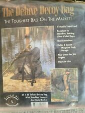 """Vintage French and Son Deluxe Duck Decoy Bag 35"""" by 55"""" Nwt Hunting Rare"""
