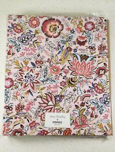 Vera Bradley Hard 3 Ring Binder Maplewood Floral Print with Interior Pockets NWT