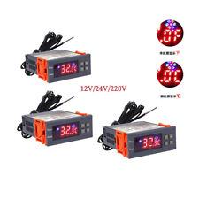 Fahrenheit Centigrade Digital Temperature Controller 2 Relay With Sensor