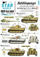 Star Decals,35-C1063 Befehls Tiger I and Tiger II.Befehlspanzer # 7,SCALE 1/35