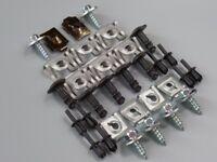 32 Teile Unterfahrschutz Einbausatz Unterboden Motorschutz Clips Set BMW 3er E90