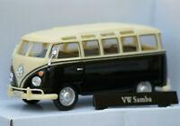 VW VOLKSWAGEN SAMBA T1 1:43 Car NEW Van Bus Diecast Camper Cars Die Cast Black