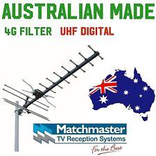 TV antenna uhf Matchmaster Australian Made digital hdtv rg6 f 4g  GMX 400