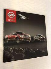 2018 NISSAN TITAN / TITAN XD 28-page Original Sales Brochure